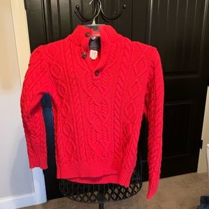 GAP | Red Cable sweater | XL (12) | EUC